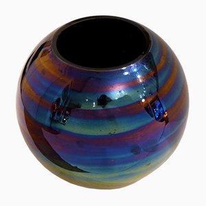 Vintage Glaskugelvase