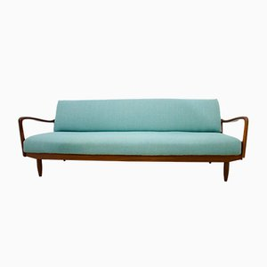 Mid-Century Teak Sofa Bed from Greaves & Thomas, 1960s