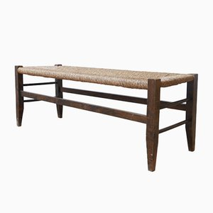 Mid-Century French Bench, 1940s