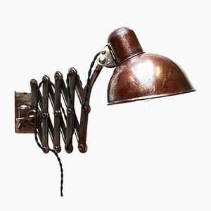 Wandlampe von Christian Dell für Kaiser Idell / Kaiser Leuchten, 1930er