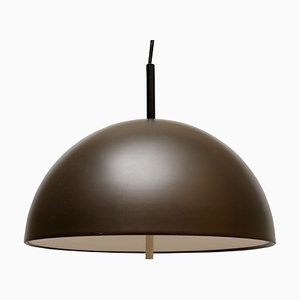 Brown Ceiling Lamp from Staff, 1970s
