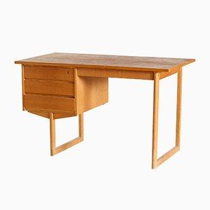 Mid-Century Danish Beech Desk, 1960s