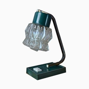 Grüne Mid-Century Tischlampe, 1950er