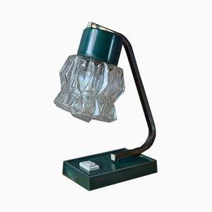 Mid-Century Green Table Lamp, 1950s