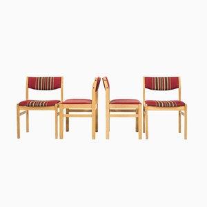 Vintage Esszimmerstühle von Børge Mogensen für FDB, 8er Set