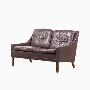Dänisches Vintage Palisander 2-Sitzer Sofa von Georg Thams, 1970er