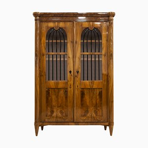 Antique German Biedermeier Display Cabinet