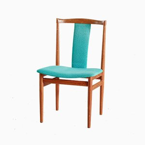 Mid-Century Danish Teak Dining Chairs by Henning Sørensen for Danex, 1960s, Set of 6