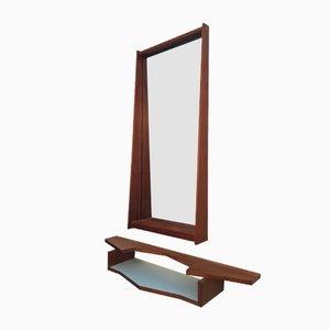 Miroir et Console par Vittorio Dassi, 1950s, Set de 2