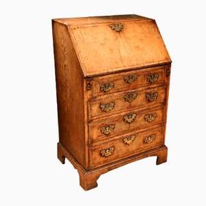 Small Antique Walnut Secretaire