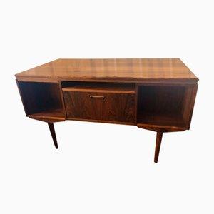Mid-Century Rosewood Veneer Desk