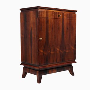 Art Deco French Rosewood Cabinet, 1930s