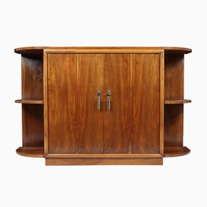 Art Deco French Walnut Sideboard, 1930s