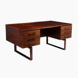 Mid-Century Rosewood Desk by Henning Jensen, 1960s