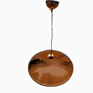 Copper Ceiling Lamp, 1970s