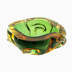Mid-Century Murano Glass Ashtray, 1950s