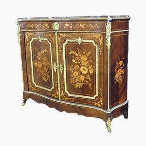Antique Napoleon III Marquetry Buffet