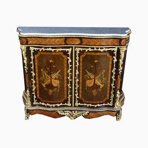 Sideboard Napoleon III mit Intarsien & Intarsien