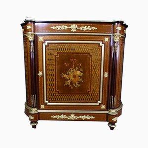 Antikes XIX Intarsie Buffet mit Intarsien