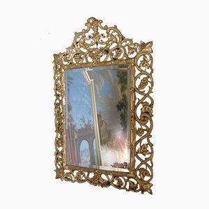 Miroir XIX Antique Doré