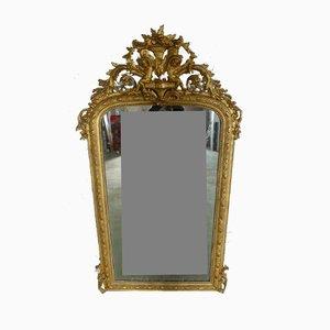Antique XIX Angelot Mirror