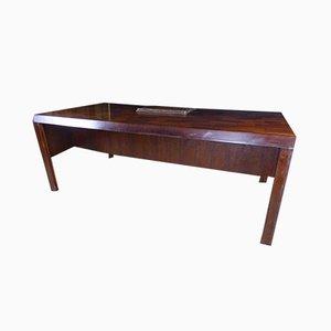 Großer antiker XX Palisander Schreibtisch