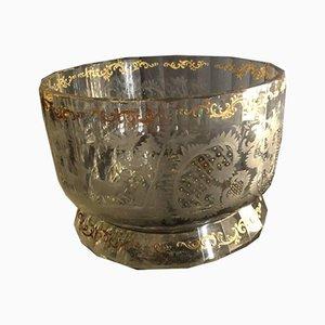Antike Kristallglas Tasse