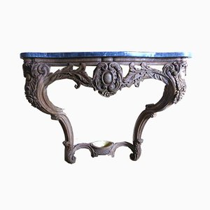 Console Antique XIXe en Noyer