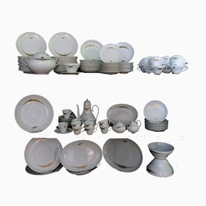 Set de Service Antique en Porcelaine