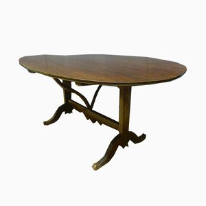 Large Antique XIX Vintner's Table