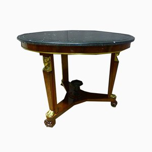 Antique Empire XIX Pedestal Table