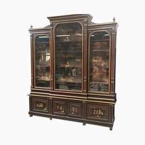 Antike Napoleon III Bibliothek