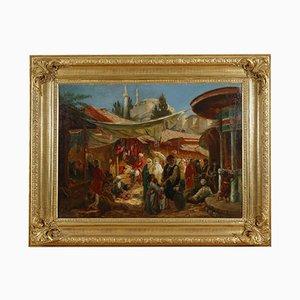 Souk En Orient Gemälde