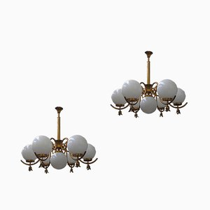 Chandeliers, Set of 2