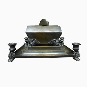Antique XIX Napoleon's Tomb Inkwell