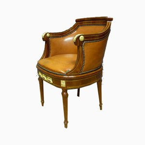 Antique Louis XVI Style Office Armchair