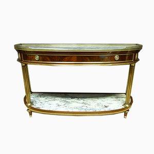 Großer antiker Louis XVI Konsolentisch