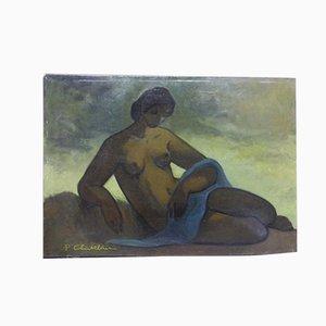 Pittura Rêverie di Paul Chatelain