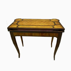 Antique XVIII Game Table by J. Dubois