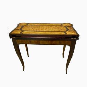 Table de Jeu Antique XVIIIème par J. Dubois