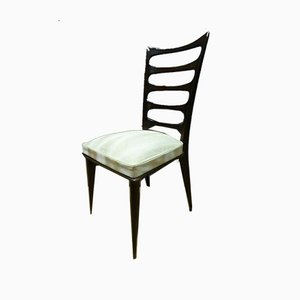 Antique XX Chairs by Gaston Poisson, Set of 6