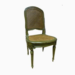 Antique Louis XVI Style Painted Chairs, Set of 10