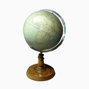 Globe by Girard and Thomas Barrère, 1930s