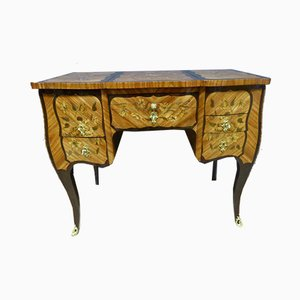 Antique XVIII Marquetry Dressing Table