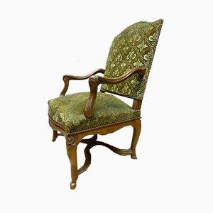 Antike Nussholz Armlehnstühle im Regency Stil