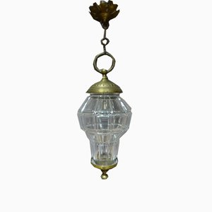 Glass & Bronze Lantern