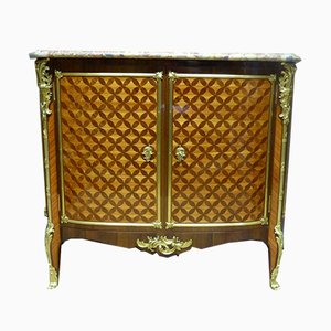 Antique Marquetry Sideboard