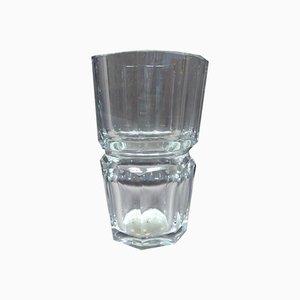 Große Baccarat Edit Vase aus Kristallglas, 1930er