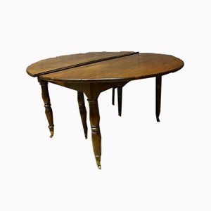 Antique XIX Mahogany Extendable Table