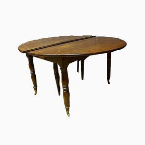 Ausziehbarer antiker Tisch aus Mahagoni XIX